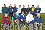 The Ardfert Golfing Society who play their golf Classic at Tralee Golf Club on Saturday morning. Front l-r: Patrick Kenny, Brendan Sinott (capt),Len Tiplady, Dave Wallace and Danny Fitzgerald. Back l-r: Mossie Fitzgerald, Con O'Sullivan, Brian O'Leary, Mike Leahy, Colm Lawlor, John Walsh, Danny Casey and Justin Horgan.