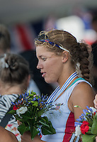 Rotterdam. Netherlands.  USA JW 4X. Bow.  Rose CARR, Molly MILLIGAN, Claire GRUNDIG and Jenna<br /> VAN DE GRIFT, <br /> 2016 JWRC,  {WRCH2016}  at the Willem-Alexander Baan.   Sunday  28/08/2016 <br /> <br /> [Mandatory Credit; Peter SPURRIER/Intersport Images]