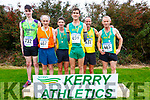 Gold's all round for Kerry'sTop Cross Country athletes at the County Championships in Cahersiveen on Sunday pictured here l-r; Darragh O'Leary(U19's), Michael Mangan(Over 60's), Tim O'Connor(Masters & Over 40's), Conor O'Mahony(Intermediate), Robert Purcell(Over 50's) and Kevin Griffin(Over 55's).