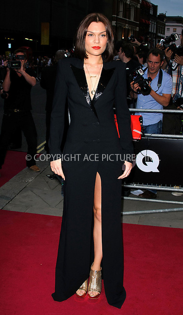 WWW.ACEPIXS.COM....US SALES ONLY....September 4, 2012, London, England.....Jessie J arriving at the GQ Men of the Year Awards at the Royal Opera House on September 4, 2012 in London.......By Line: Famous/ACE Pictures....ACE Pictures, Inc..Tel: 646 769 0430..Email: info@acepixs.com