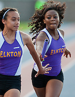 at the 1A/2A Maryland State Track and Field Championships at Morgan University in Baltimore, Maryland on May 24, 2012