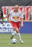 New York Red Bulls forward Clint Mathis (13) controls the ball. DC United defeated the New York Red Bulls, 4-2, at RFK Stadium in Washington DC, Sunday, June 10 , 2007.