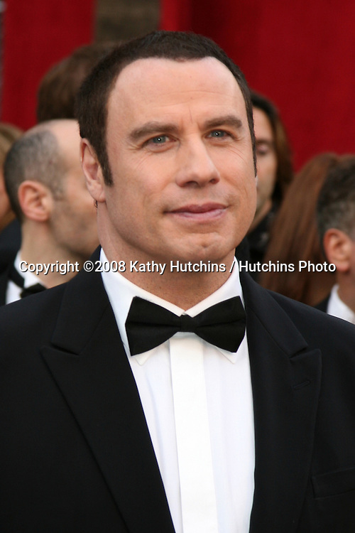 John Travolta.80th Academy Awards ( Oscars).Kodak Theater.Los Angeles, CA.February 24, 2008.©2008 Kathy Hutchins / Hutchins Photo.
