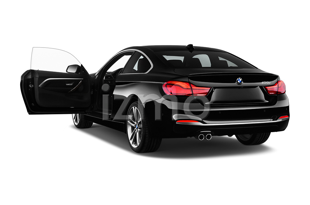 Car images close up view of a 2020 BMW 4 Series 430i Coupe 2 Door Coupe doors