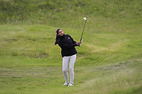 Carolina Lopez-Chacarra (ESP) on the 1st during Round 1 of the Women's Amateur Championship at Royal County Down Golf Club in Newcastle Co. Down on Tuesday 11th June 2019.<br /> Picture:  Thos Caffrey / www.golffile.ie<br /> <br /> All photos usage must carry mandatory copyright credit (© Golffile | Thos Caffrey)