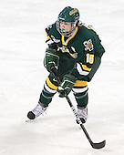 Brittany Nelson (Vermont - 16) - The University of Vermont Catamounts defeated the Boston College Eagles 5-1 on Saturday, November 7, 2009, at Conte Forum in Chestnut Hill, Massachusetts.