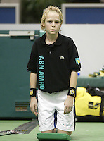 23-2-06, Netherlands, tennis, Rotterdam, ABNAMROWTT,Ballboy