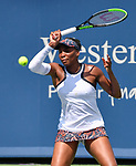 Venus Williams (USA) defeated Donna Vekic (CRO) 2-6, 6-3, 6-3