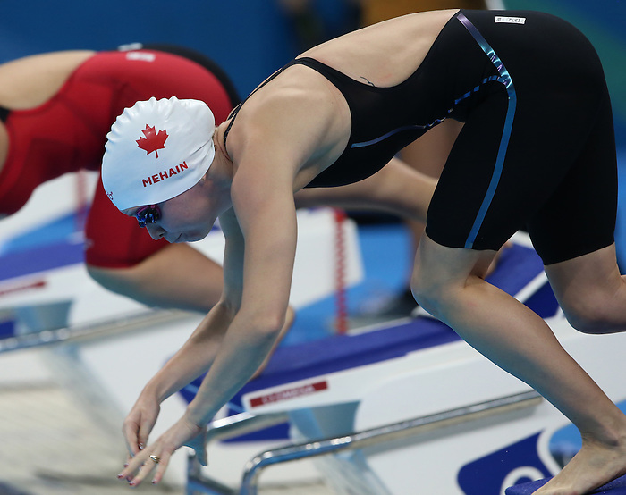 Rio de Janeiro-12/9/2016- Canadian swimmer  Sarah Mehain competes in the women's 50m fly at the Olympic Aquatic Centre during the 2016 Paralympic Games in Rio. Photo Scott Grant/Canadian Paralympic Committee