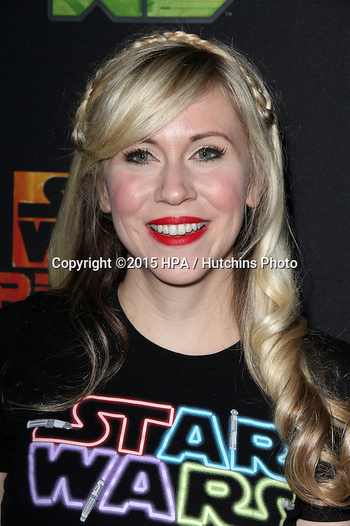 "LOS ANGELES - FEB 18:  Ashley Eckstein at the Global Premiere of ""Star Wars Rebels"" Season 2 at the Star Wars Celebration, Anaheim Convention Center on April 18, 2015 in Anaheim, CA"