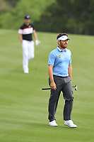 Louis Oosthuizen (RSA), Ross Fisher (ENG) on the 2nd during the 1st round at the WGC Dell Technologies Matchplay championship, Austin Country Club, Austin, Texas, USA. 22/03/2017.<br /> Picture: Golffile | Fran Caffrey<br /> <br /> <br /> All photo usage must carry mandatory copyright credit (&copy; Golffile | Fran Caffrey)