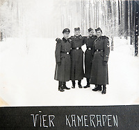 BNPS.co.uk (01202 558833)<br /> Pic: Jones&Jacob/BNPS<br /> <br /> 'My Comrades' - The LSSAH in the Grunewald west of Berlin in winter.<br /> <br /> Springtime for Hitler...Chilling album of pictures taken by one of Hitlers bodyguards illustrates the Nazi dictators rise to power.<br /> <br /> An unseen album of photographs taken by a member of Hitlers own elite SS bodyguard division in the years leading up to the start of WW2.<br /> <br /> The 1st SS Panzer Division 'Leibstandarte SS Adolf Hitler' or LSSAH began as Adolf Hitler's personal bodyguard in the 1920's responsible for guarding the Führer's 'person, offices, and residences'.