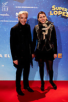 Irene Meritxell and Imanol Arias attends to Super Lopez premiere at Capitol cinema in Madrid, Spain. November 21, 2018. (ALTERPHOTOS/A. Perez Meca) /NortePhoto NORTEPHOTOMEXICO