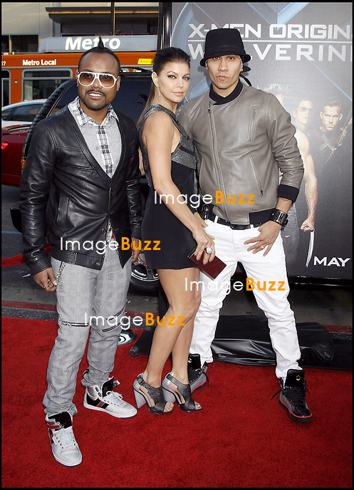 """ X-MEN ORIGINS WOLVERINE "" MOVIE PREMIERE, AT THE GRAUMAN'S CHINESE THEATRE IN HOLLYWOOD..LOS ANGELES, APRIL 28, 2009...Pic :  Fergie and The Black Eyed Peas"