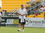 31 March 2007: Toronto head coach Mo Johnston (SCO).  The United Soccer League Division 1 Charleston Battery lost to Major League Soccer expansion team Toronto FC 3-0 in a preseason game at Blackbaud Stadium on Daniel Island in Charleston, SC, as part of the Carolina Challenge Cup.