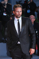 Matthias Schoenaerts attends the red carpet for the premiere of the movie 'The Danish Girl' during 72nd Venice Film Festival at Palazzo Del Cinema in Venice, Italy, September 5.<br /> UPDATE IMAGES PRESS/Stephen Richie