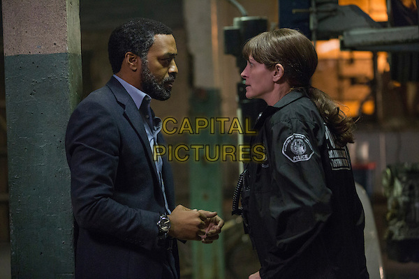 Secret in Their Eyes (2015) <br /> Chiwetel Ejiofor, Julia Roberts<br /> *Filmstill - Editorial Use Only*<br /> CAP/FB<br /> Image supplied by Capital Pictures
