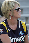 24 June 2009: The mother of Brittany Bock (not pictured) of the Los Angeles Sol was in attendance.  Saint Louis Athletica was defeated by the visiting Los Angeles Sol 1-2 in a regular season Women's Professional Soccer game at AB Soccer Park, in Fenton, MO.