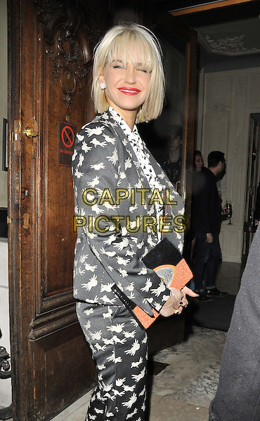 LONDON, ENGLAND - FEBRUARY 04: Sarah Harding attends the InStyle Best of British Talent party to celebrate the EE BAFTA Film Awards later this month, Dartmouth House, Charles St., on Tuesday February 04, 2014 in London, England, UK.<br /> CAP/CAN<br /> &copy;Can Nguyen/Capital Pictures