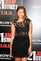 LOS ANGELES, CA - MAR 13: Chanel Celaya at the premiere of Columbia Pictures '21 Jump Street' held at Grauman's Chinese Theater on March 13, 2012 in Los Angeles, California