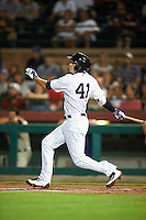Scottsdale Scorpions Tyler Wade (41), of the New York Yankees organization, during a game against the Salt River Rafters on October 12, 2016 at Scottsdale Stadium in Scottsdale, Arizona.  Salt River defeated Scottsdale 6-4.  (Mike Janes/Four Seam Images)