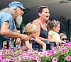 fans at Delaware Park on 6/20/15