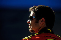 Apr 17, 2009; Avondale, AZ, USA; NASCAR Sprint Cup Series driver Martin Truex Jr during qualifying for the Subway Fresh Fit 500 at Phoenix International Raceway. Mandatory Credit: Mark J. Rebilas-