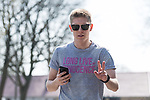 10.04.2018, Weserstadion, Bremen, GER, 1.FBL, Training SV Werder Bremen<br /> <br /> im Bild<br /> Aron J&oacute;hannsson / Johannsson (Werder Bremen #09), <br /> <br /> Foto &copy; nordphoto / Ewert