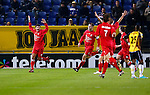 Nederland, Breda, 31 oktober 2012.KNVB Beker.Seizoen 2012-2013.NAC Breda-HBS.Sami Aoulad Said (l.) van HBS juicht nadat hij de 0-1 heeft gescoord.