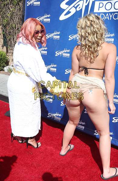 06 May 2017 - Las Vegas, Nevada - Blac Chyna, Alexis Texas.  Blac Chyna hosts at Sapphire Pool.   <br /> CAP/ADM/MJT<br /> &copy; MJT/ADM/Capital Pictures