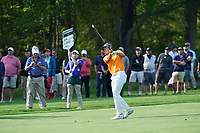 Jordan Spieth (USA) on the 13th fairway during the 1st round at the PGA Championship 2019, Beth Page Black, New York, USA. 17/05/2019.<br /> Picture Fran Caffrey / Golffile.ie<br /> <br /> All photo usage must carry mandatory copyright credit (&copy; Golffile | Fran Caffrey)