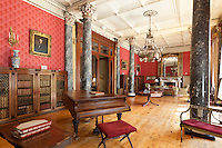 Ireland, County Cork, Bantry: Bantry House, interior of country house, built in early 18th century | Irland, County Cork, Bantry: Bantry House erbaut im fruehen 18. Jahrhundert