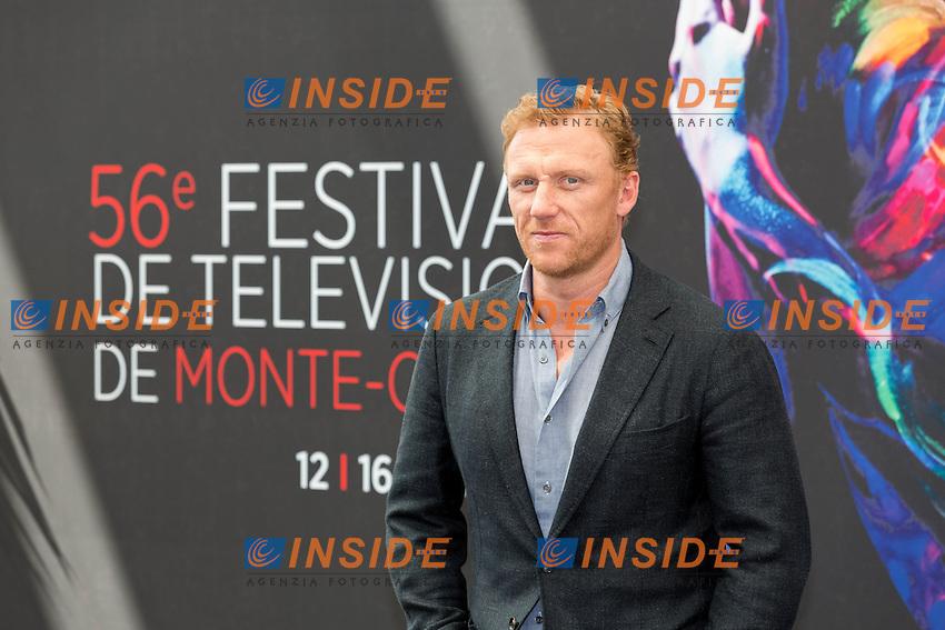 Kevin MCKIDD, Grey&rsquo;s Anatomy<br /> <br /> Monaco Montecarlo 14-06-2016 <br /> 56th Monaco TV Festival - Photocall Opening Ceremony <br /> Foto Nicolas Gavet Panoramic / Insidefoto