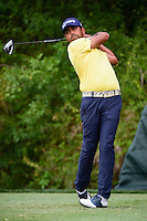 Anirban Lahiri (IND) watches his drive on 3 during round 3 of the Honda Classic, PGA National, Palm Beach Gardens, West Palm Beach, Florida, USA. 2/25/2017.<br /> Picture: Golffile | Ken Murray<br /> <br /> <br /> All photo usage must carry mandatory copyright credit (&copy; Golffile | Ken Murray)