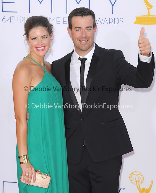 Carson Daly.. at The 64th Anual Primetime Emmy Awards held at Nokia Theatre L.A. Live in Los Angeles, California on September  23,2012                                                                   Copyright 2012 Hollywood Press Agency
