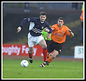 23/11/2002                   Copyright Pic : James Stewart.File Name : stewart-dundee v utd23.NEMSADZE GETS AWAY FROM CHARLIE MILLER.....Payments to :-.James Stewart Photo Agency, 19 Carronlea Drive, Falkirk. FK2 8DN      Vat Reg No. 607 6932 25.Office     : +44 (0)1324 570906     .Mobile  : +44 (0)7721 416997.Fax         :  +44 (0)1324 570906.E-mail  :  jim@jspa.co.uk.If you require further information then contact Jim Stewart on any of the numbers above.........