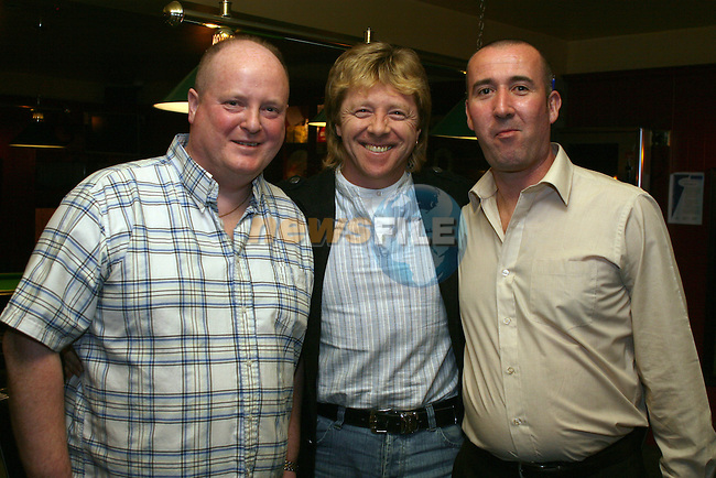John O'Connor, Gerry Simpson and Christopher Cudden at the Simon Moroney Memorial Pool Tournament in O'Caseys...Photo NEWSFILE/Jenny Matthews.(Photo credit should read Jenny Matthews/NEWSFILE)....This Picture has been sent you under the condtions enclosed by:.Newsfile Ltd..The Studio,.Millmount Abbey,.Drogheda,.Co Meath..Ireland..Tel: +353(0)41-9871240.Fax: +353(0)41-9871260.GSM: +353(0)86-2500958.email: pictures@newsfile.ie.www.newsfile.ie.FTP: 193.120.102.198.