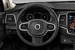 Car pictures of steering wheel view of a 2020 Volvo XC90 Momentum 5 Door SUV Steering Wheel