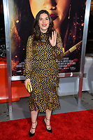 "LOS ANGELES, CA. January 30, 2019: America Ferrera at the world premiere of ""Miss Bala"" at the Regal LA Live.<br /> Picture: Paul Smith/Featureflash"