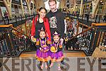 Shanae, Art, Aimee and Shane McNally from Killarney at the Killarney Outlet Centre Halloween Fancy Dress Parade last Sunday.