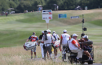 The Journey to Better was definitely there - flawless 65 saw Jaco Van Zyl (RSA) leads the field during Round Three of the 2015 Alstom Open de France, played at Le Golf National, Saint-Quentin-En-Yvelines, Paris, France. /04/07/2015/. Picture: Golffile | David Lloyd<br /> <br /> All photos usage must carry mandatory copyright credit (© Golffile | David Lloyd)