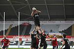 Ospreys flanker Tyler Ardron takes the line out ball.<br /> RaboDirect Pro12<br /> Ospreys v Munster<br /> Liberty Stadium<br /> 23.02.14<br /> <br /> &copy;Steve Pope-SPORTINGWALES