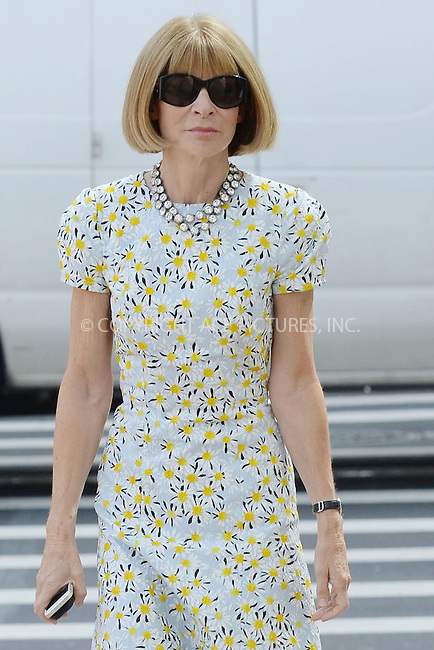 WWW.ACEPIXS.COM<br /> September 3, 2014 New York City<br /> <br /> Anna Wintour at the 2014 Couture Council Award Luncheon Benefit For The Museum At FIT in New York City on September 3, 2014.<br /> <br /> By Line: Kristin Callahan/ACE Pictures<br /> ACE Pictures, Inc.<br /> tel: 646 769 0430<br /> Email: info@acepixs.com<br /> www.acepixs.com