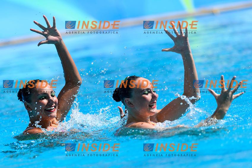 AUS - Australia PABLO Nikita STACKPOLE Rose<br /> Duets Technical Routine <br /> Rio de Janeiro 15-08-2016 Maria Lenka Aquatics Center  <br /> Synchronised Swimming <br /> Nuoto Sincronizzato <br /> Foto Andrea Staccioli / Deepbluemedia /Insidefoto