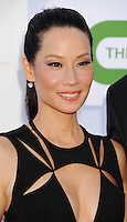 BEVERLY HILLS, CA - JULY 29: Lucy Liu arrives at the CBS, Showtime and The CW 2012 TCA summer tour party at 9900 Wilshire Blvd on July 29, 2012 in Beverly Hills, California. /NortePhoto.com<br />