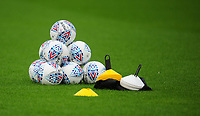A pile of Mitre official match balls<br /> <br /> Photographer Kevin Barnes/CameraSport<br /> <br /> The Carabao Cup - Accrington Stanley v Preston North End - Tuesday 8th August 2017 - Crown Ground - Accrington<br />  <br /> World Copyright &copy; 2017 CameraSport. All rights reserved. 43 Linden Ave. Countesthorpe. Leicester. England. LE8 5PG - Tel: +44 (0) 116 277 4147 - admin@camerasport.com - www.camerasport.com
