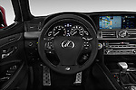 Car pictures of steering wheel view of a 2017 Lexus LS 460-Sport 4 Door Sedan Steering Wheel
