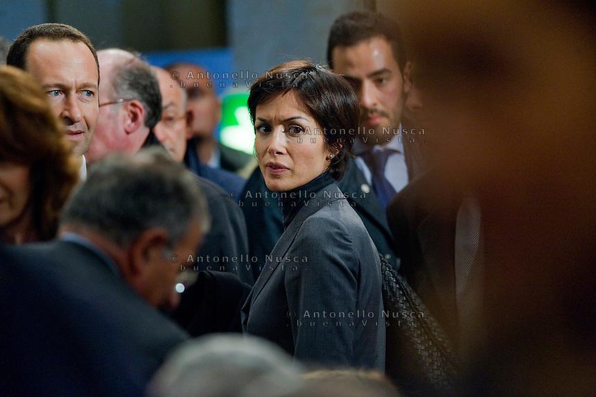 Roma, 29 Novembre ,2011.  Mara Carfagna