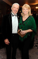 Terry McCoy and Miriam Ahern  at the Irish Hotels Federation Conference Gala Dinner in The Malton Hotel, Killarney on Tuesday night. Picture: MacMonagle, Killarney