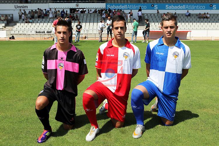 Presentacion nuevas equipaciones CE Sabadell.
